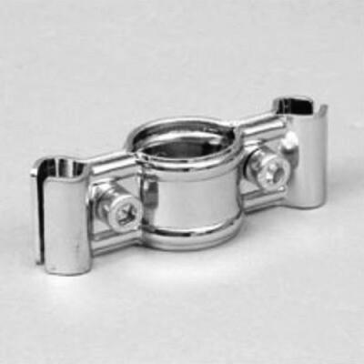 MS 14 соединение для двух решеток с трубой,хром